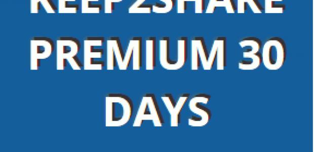 KEEP2SHARE PREMIUM ACCOUNT (06 NOV 2015) FREE